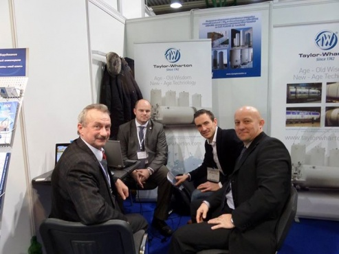 Meeting with Taylor Wharton company at CryogenExpo Moscow 2013